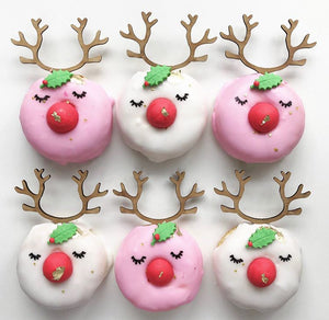 Rudolph the Red Nose Donut