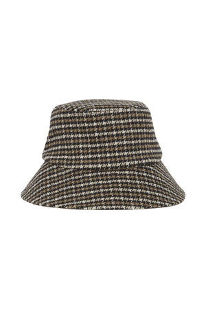 IA ELINA  Bucket Hat - Black Check