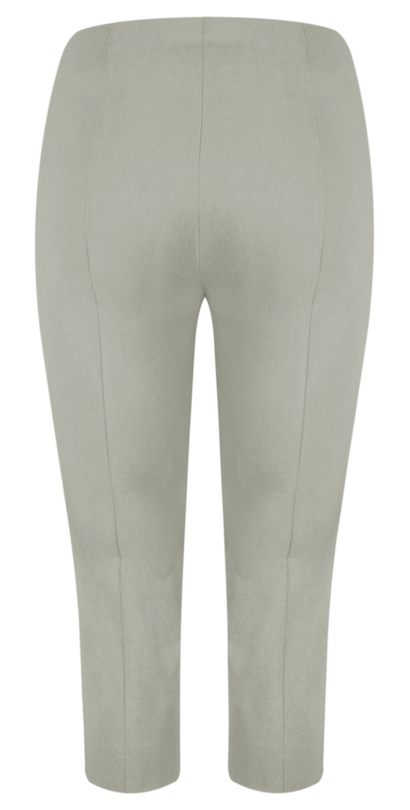 ROBELL ROSE 07  Crop Trouser - 13 Taupe