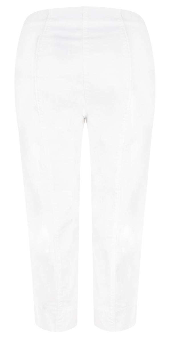 ROBELL MARIE DENIM  07 Crop Jean - 10 White