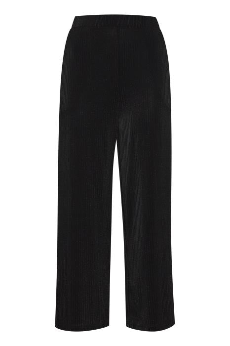 IH WALI Trousers - Black Metallic