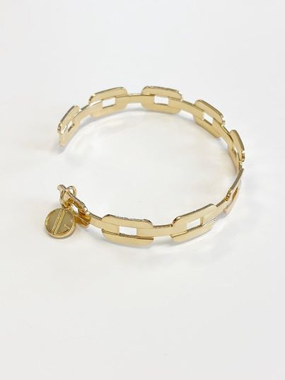 SWAN Boutique SERAPHINA Link Bangle - Gold