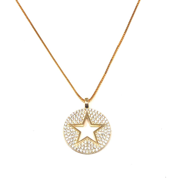 SWAN Boutique LONE STAR Adjustable Necklace - Gold