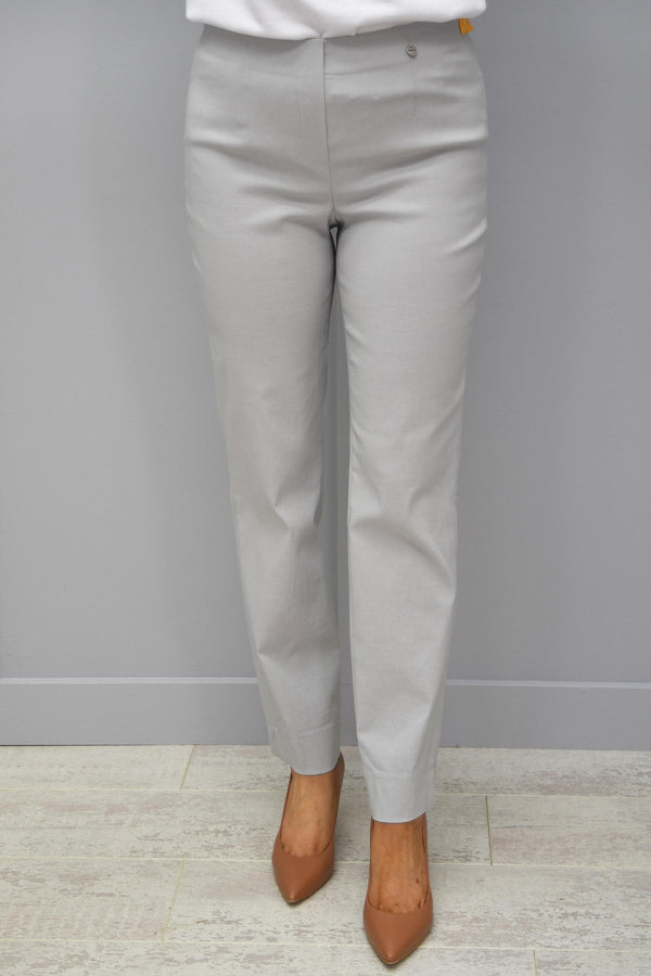 ROBELL MARIE Full Length Trouser - 92 Silver Grey