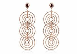 SWAN Boutique Silver Triple Drop Diamond Cut Earrings - Silver Only