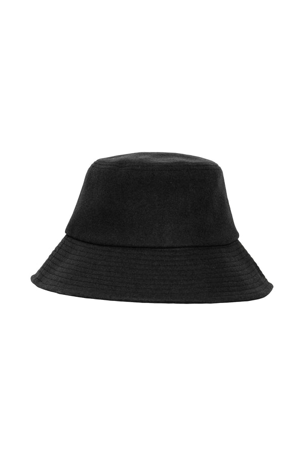 IA LILA  Bucket Hat - Black