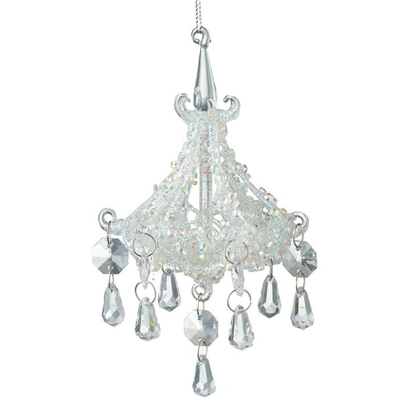 Glass Small Chandelier Drop Decoration