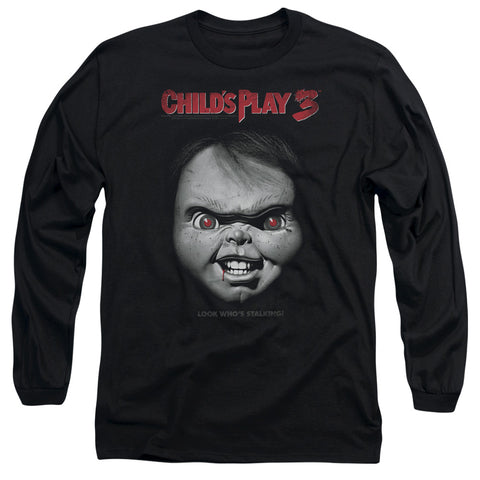 Childs Play 3 - Face Poster Long Sleeve Adult 18/1