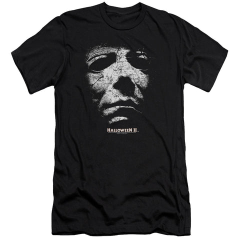 Halloween Ii - Mask Premium Canvas Adult Slim Fit 30/1
