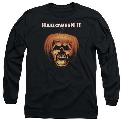Halloween Ii - Pumpkin Shell Long Sleeve Adult 18/1