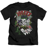 Batman - Jokers Wild Short Sleeve Juvenile 18/1