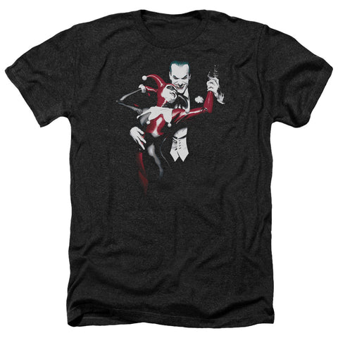 Batman - Harley And Joker Adult Heather