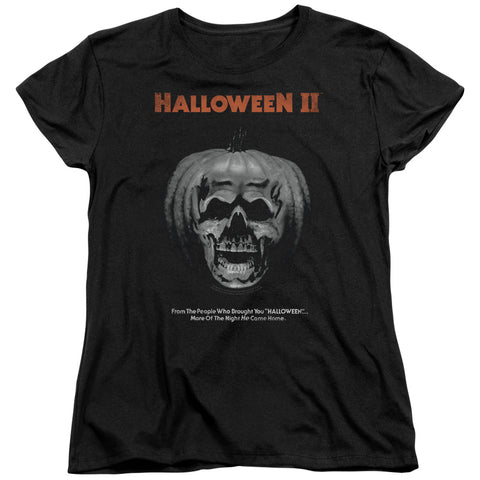Halloween Ii - Pumpkin Poster Short Sleeve Women's Tee