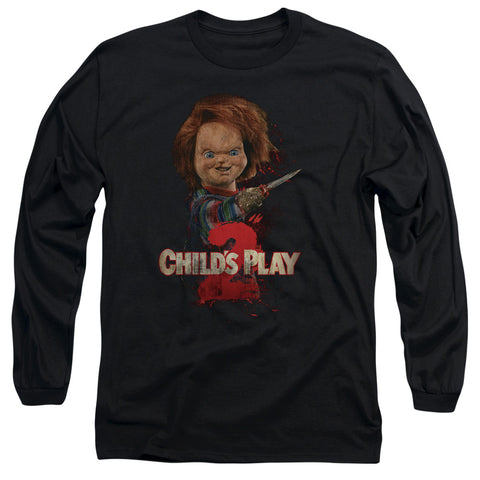 Childs Play 2 - Heres Chucky Long Sleeve Adult 18/1
