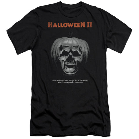Halloween Ii - Pumpkin Poster Premium Canvas Adult Slim Fit 30/1