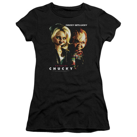 Bride Of Chucky - Chucky Gets Lucky Premium Bella Junior Sheer Jersey