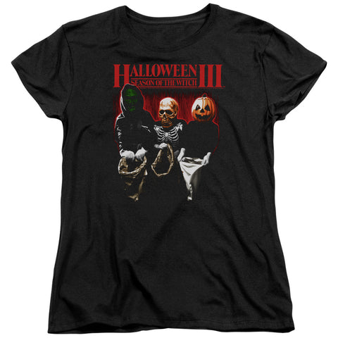 Halloween Iii - Trick Or Treat Short Sleeve Women's Tee