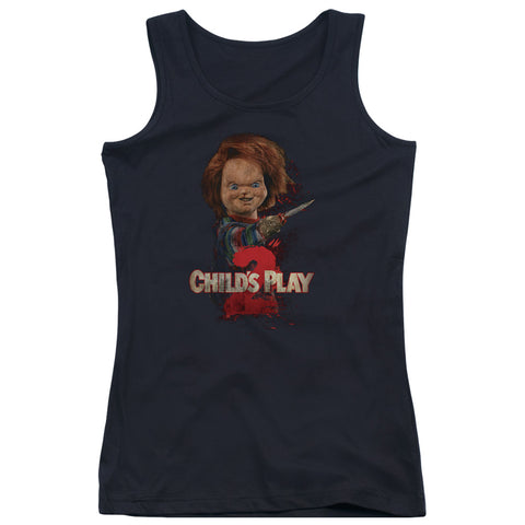 Childs Play 2 - Heres Chucky Juniors Tank Top