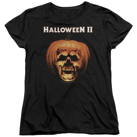 Halloween Ii - Pumpkin Shell Short Sleeve Women's Tee