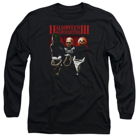 Halloween Iii - Trick Or Treat Long Sleeve Adult 18/1