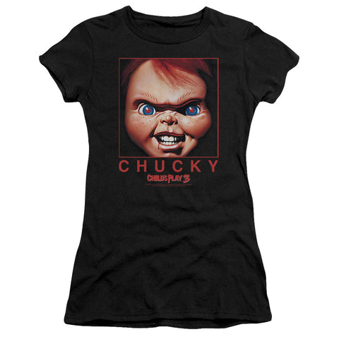 Childs Play - Chucky Squared Short Sleeve Junior Sheer