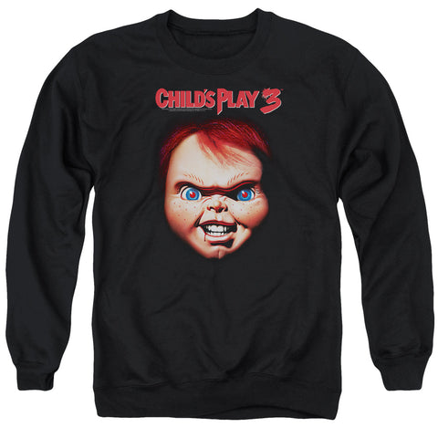 Childs Play 3 - Chucky Adult Crewneck Sweatshirt