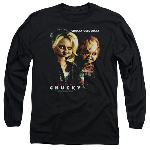 Bride Of Chucky - Chucky Gets Lucky Long Sleeve Adult 18/1