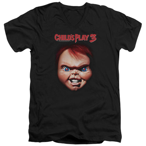 Childs Play 3 - Chucky Short Sleeve Adult V Neck