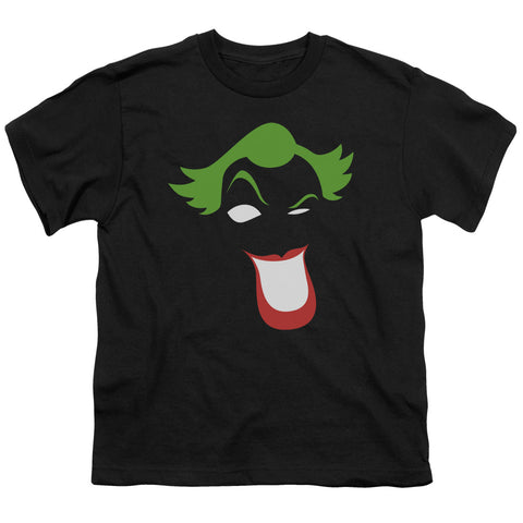 Batman - Joker Simplified Short Sleeve Youth 18/1