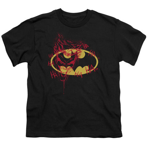 Batman - Joker Graffiti Short Sleeve Youth 18/1
