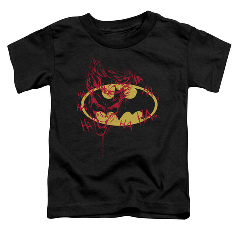 Batman - Joker Graffiti Short Sleeve Toddler Tee