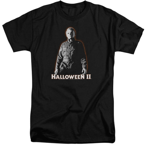 Halloween Ii - Michael Myers Short Sleeve Adult Tall