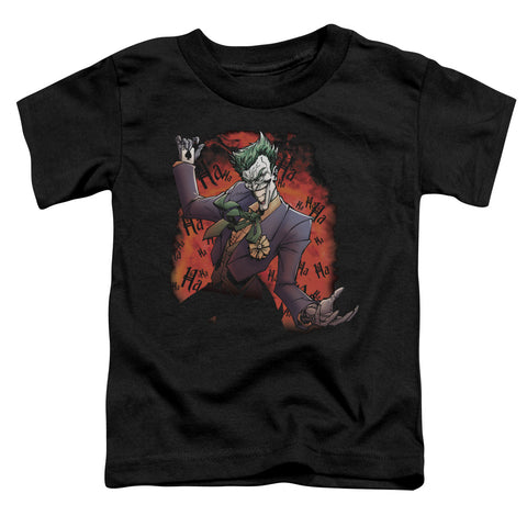Batman - Joker's Ave Short Sleeve Toddler Tee