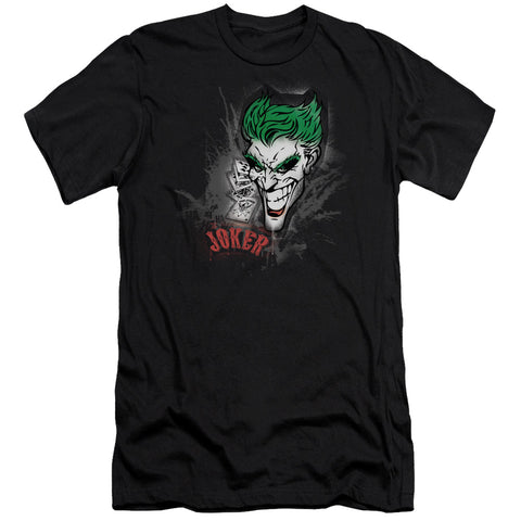 Batman - Joker Sprays The City Premium Canvas Adult Slim Fit 30/1