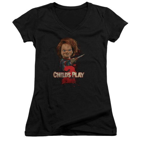 Childs Play 2 - Heres Chucky Junior V Neck