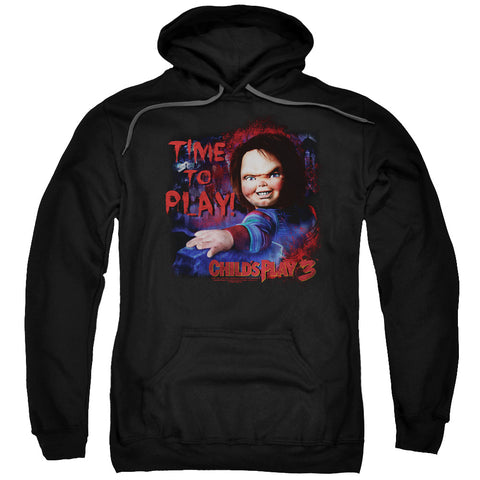Childs Play 3 - Time To Play Adult Pull Over Hoodie