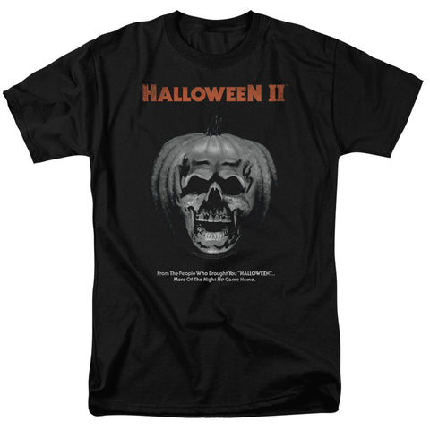Halloween Ii - Pumpkin Poster Short Sleeve Adult 18/1