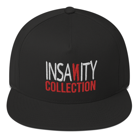 Insanity Collection Logo - 3D Flat Bill Cap