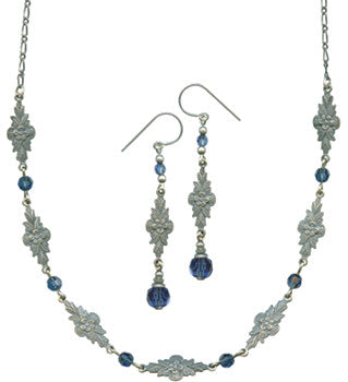 GRACE 9 NECKLACE AND EARRING SET