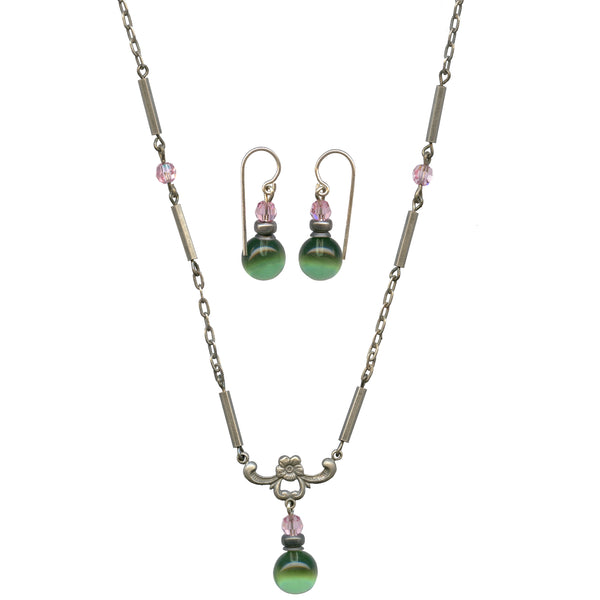 HYDE PARK 2 EARRINGS AND NECKLACE SET
