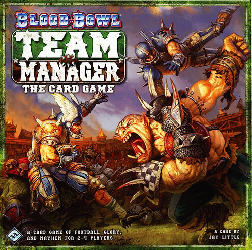 Blood Bowl: Team Manager – The Card Game - Rent A Meeple