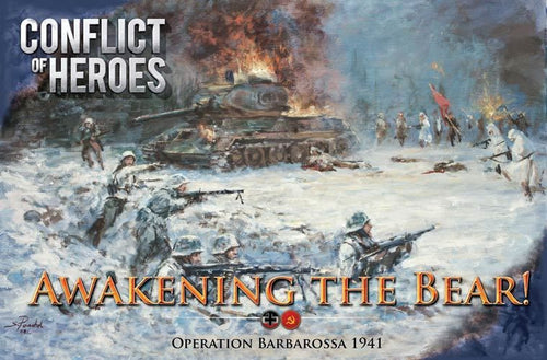 Conflict of Heroes: Awakening the Bear! – Operation Barbarossa 1941 (Second Edition) - Rent A Meeple