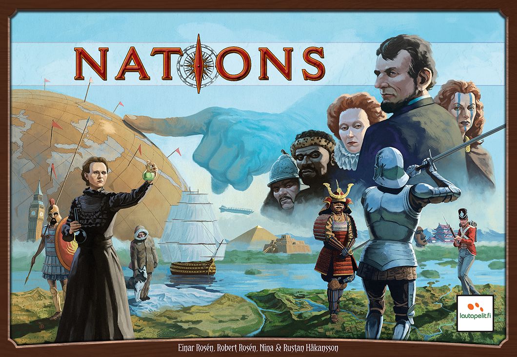 Nations - Rent A Meeple