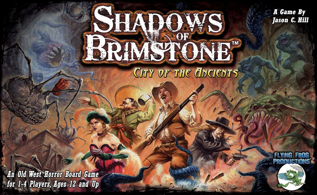 Shadows of Brimstone: City of the Ancients - Rent A Meeple