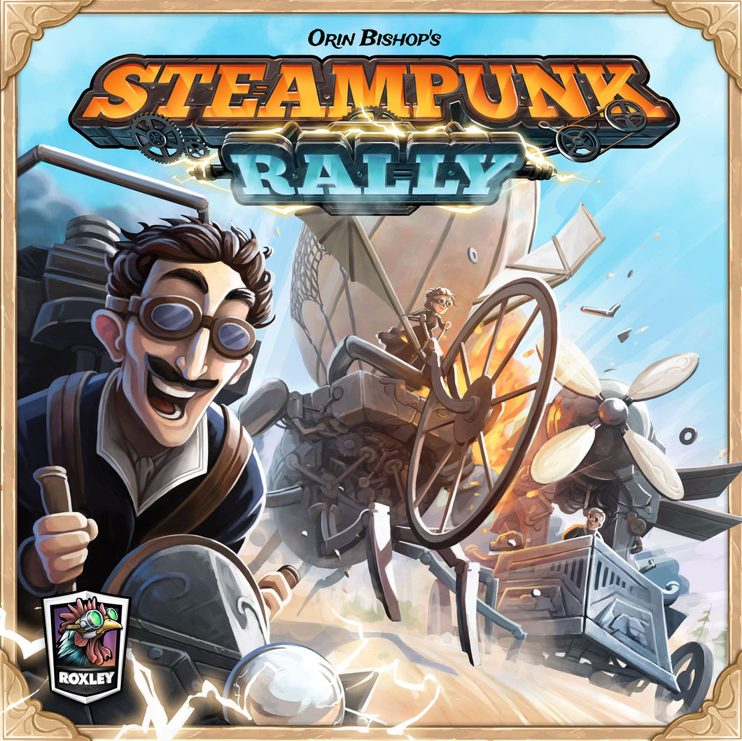 Steampunk Rally - Rent A Meeple