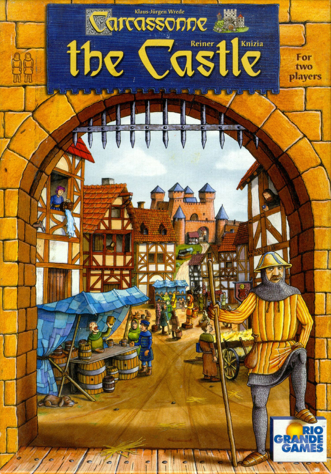 Carcassonne: The Castle - Rent A Meeple