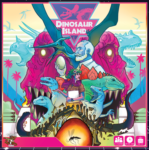 Dinosaur Island - Rent A Meeple