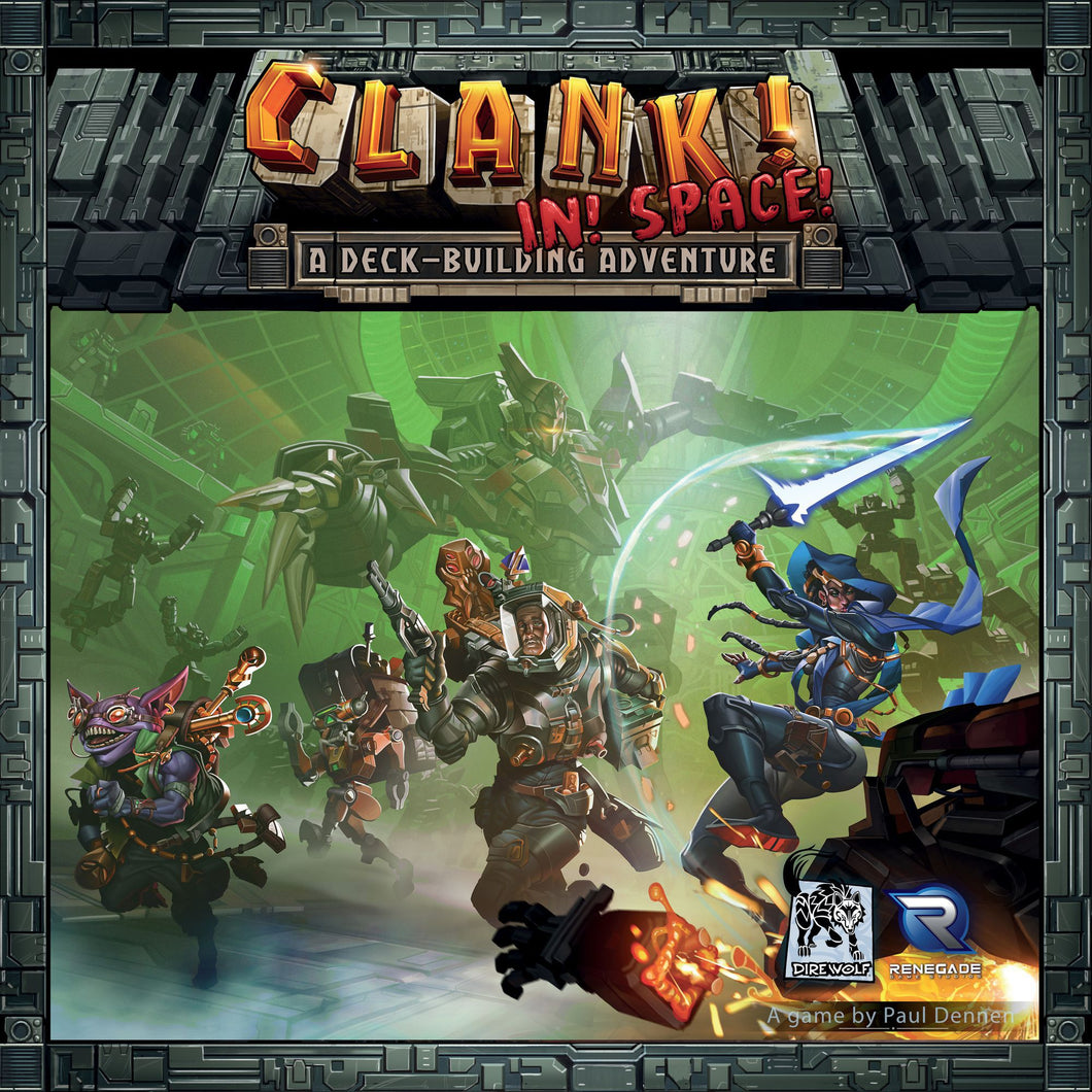 Clank! In! Space! - Rent A Meeple