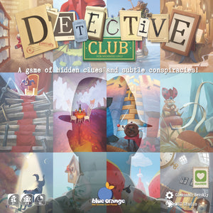Detective Club - Rent A Meeple