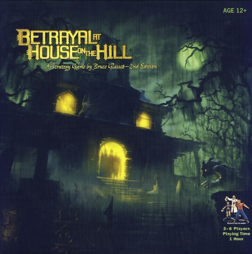 Betrayal at House on the Hill - Rent A Meeple